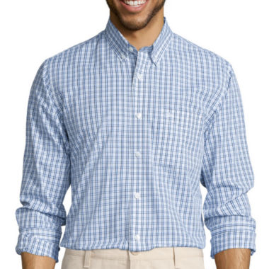 jcpenney.com | Dockers® Signature Long-Sleeve Windowpane Woven Shirt