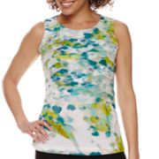 Worthington® Chiffon Tiered Top