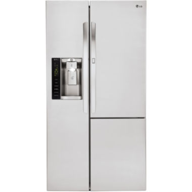 jcpenney.com | LG 26 cu. ft. Side-by-Side Refrigerator with Door-in-Door™