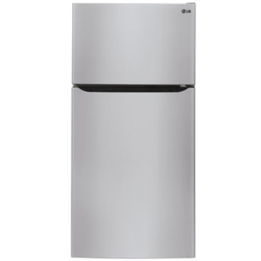 "jcpenney.com | LG 24 cu. ft. 33"" Wide Top-Mount Refrigerator"