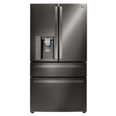 jcpenney.com | LG ENERGY STAR® 22.7cu. ft. Large Capacity 4-Door French Door Refrigerator With CustomChill™ Drawer Counter Depth