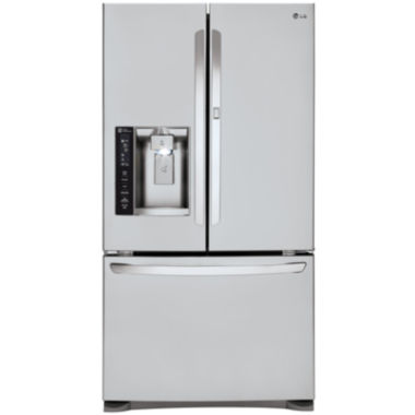 jcpenney.com | LG ENERGY STAR® 26.6 cu. ft. French Door Refrigerator with Door-in-Door Design