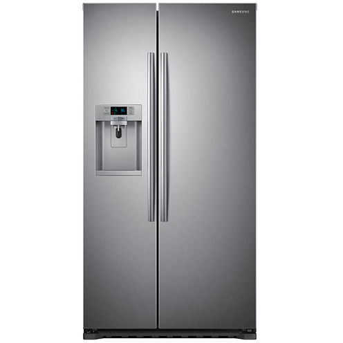 Samsung ENERGY STAR® 22.3 cu. ft. Side-by-Side Counter Depth Refrigerator