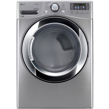 jcpenney.com | LG ENERGY STAR®  7.4 cu. ft. Ultra Large Capacity Electric Steam Dryer with NFC Tag On