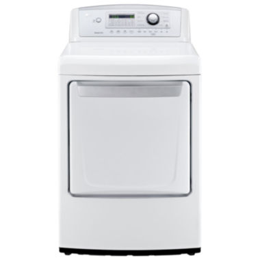 jcpenney.com | LG 7.3 cu. ft. Ultra-Large High-Efficiency Gas Dryer with Sensor Dry Technology