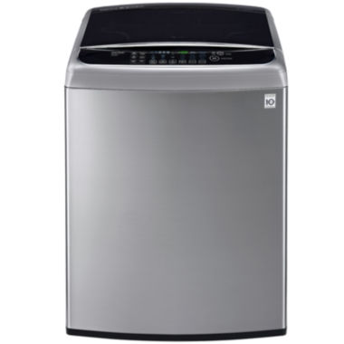 jcpenney.com | LG ENERGY STAR® 4.9 cu. ft. High Efficiency Mega Capacity Front Control TurboWash™ Washer