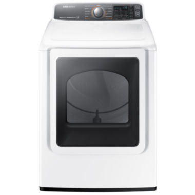 jcpenney.com | Samsung ENERGY STAR®  7.5 Cu. Ft. Large CapacityGas Dryer with Multi-Steam