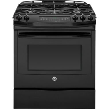 "jcpenney.com | GE® 30"" 5.6 cu.ft. Slide-In Gas Range"