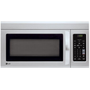 jcpenney.com | LG 1.8 Cu. Ft. Over-the-Range Microwave Oven with EasyClean® Technology and Sensor Cook