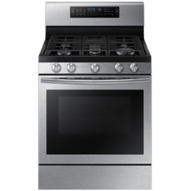 jcpenney.com | Samsung 5.8 Cu. Ft. Gas Flex Duo® Range with Griddle and Wok Grate