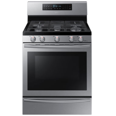 jcpenney.com | Samsung 5.8 Cu. Ft. Gas Range with True Convection