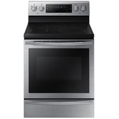 jcpenney.com | Samsung 5.9 Cu. Ft. Free-Standing Electric Flex Duo® Range with Soft Close Door