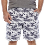 The Foundry Supply Co.™ Printed Flat-Front Shorts - Big & Tall