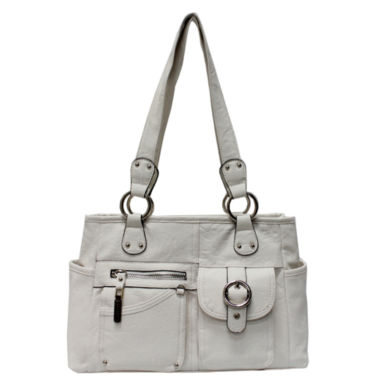 jcpenney.com | Rosetti Riveting Seams Satchel