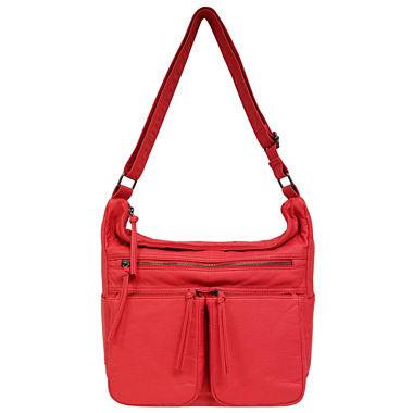 St. John's Bay Multi Pocket Hobo Bag - JCPenney