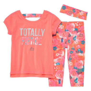 jcpenney.com | Rbx 3-pc. Legging Set-Toddler Girls