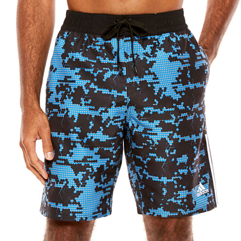 Adidas Camo Grid Camouflage Trunks