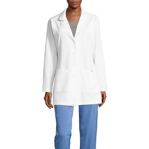 Wonder Wink Womens Long Sleeve Lab Coat-Plus