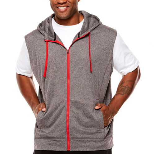 The Foundry Big & Tall Supply Co. Short Sleeve Hoodie-Big and Tall ...