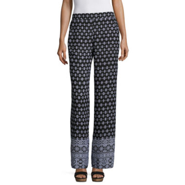 jcpenney.com | by&by Solid Palazzo Pants-Juniors