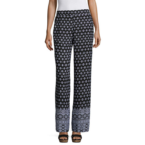 by&by Solid Palazzo Pants-Juniors