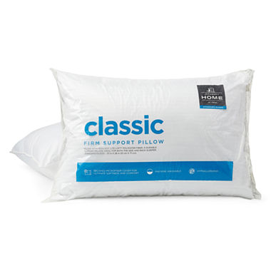 JCPenney Home Classic 2-Pack Pillows, Queen (White)