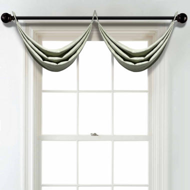 jcpenney.com | JCPenney Home Linen Grommet Poly-Cotton Lined Waterfall Valance