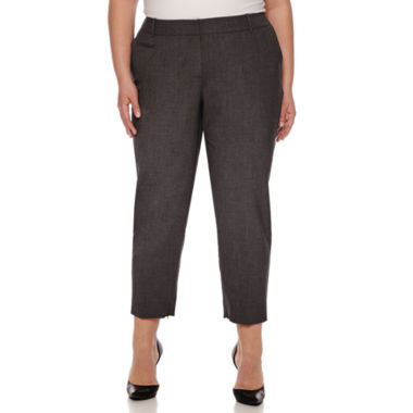 jcpenney.com | Worthington Modern Fit Ankle Pants-Plus
