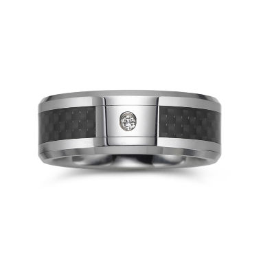 jcpenney.com |  Men's Diamond-Accent Two-Tone Wedding Band