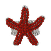Mixit® Red Starfish Stretch Ring