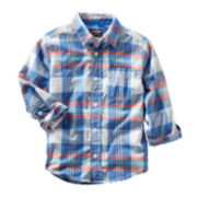 OshKosh B'gosh® Plaid Woven Shirt - Boys 5-7