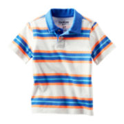 OshKosh B'gosh® Striped Polo Shirt - Boys 2t-4t