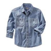 OshKosh B'gosh® Chambray Woven Shirt - Boys 2t-4t