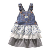 OshKosh B'gosh® Tiered Jumper - Girls 2t-4t