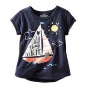 OshKosh B'gosh® Short-Sleeve Graphic Tee - Girls 2t-4t