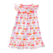 Carter's® Flamingo Nightgown - Girls 4-6x