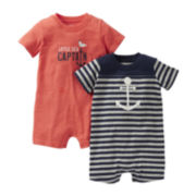 Carter's® 2-pk. Nautical Rompers - Boys newborn-24m