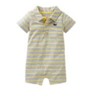 Carter's® Striped Whale Romper - Boys newborn-24m