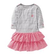Carter's® ¾-Sleeve Boatneck Dress - Girls 5-6x