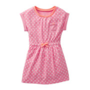 Carter's® Short-Sleeve Polka Dot Dress - Girls 5-6x