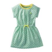 Carter's® Short-Sleeve Polka Dot Dress - Girls 5-6x