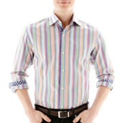 TailorByrd Long-Sleeve Button-Front Shirt