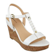 Liz Claiborne Konnie Wedge Sandals