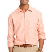 Van Heusen® Linen-Rich Button-Front Shirt
