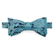 Stafford® Star Paisley Self-Tie Bow Tie