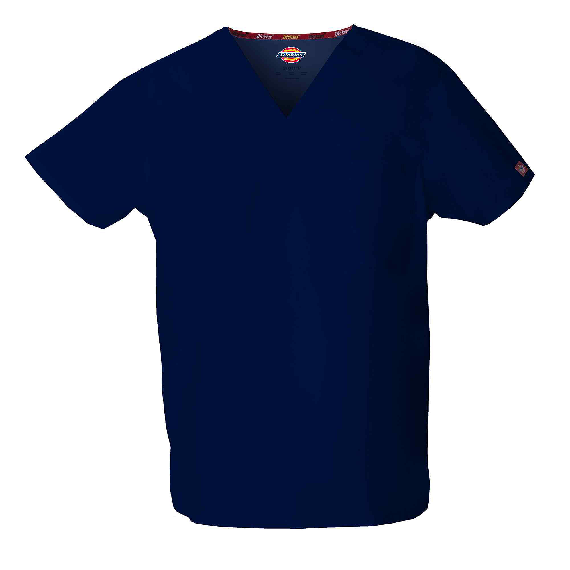 Dickies V-Neck Unisex Scrub Top-Plus