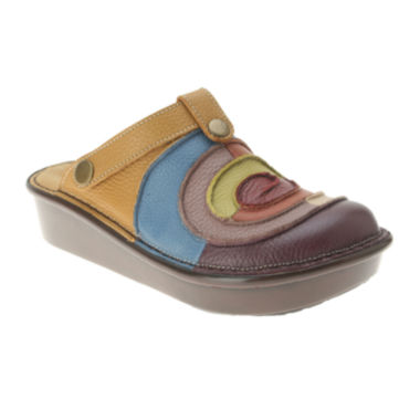 jcpenney.com | Patrizia by Spring Step Lollipop Leather Clogs