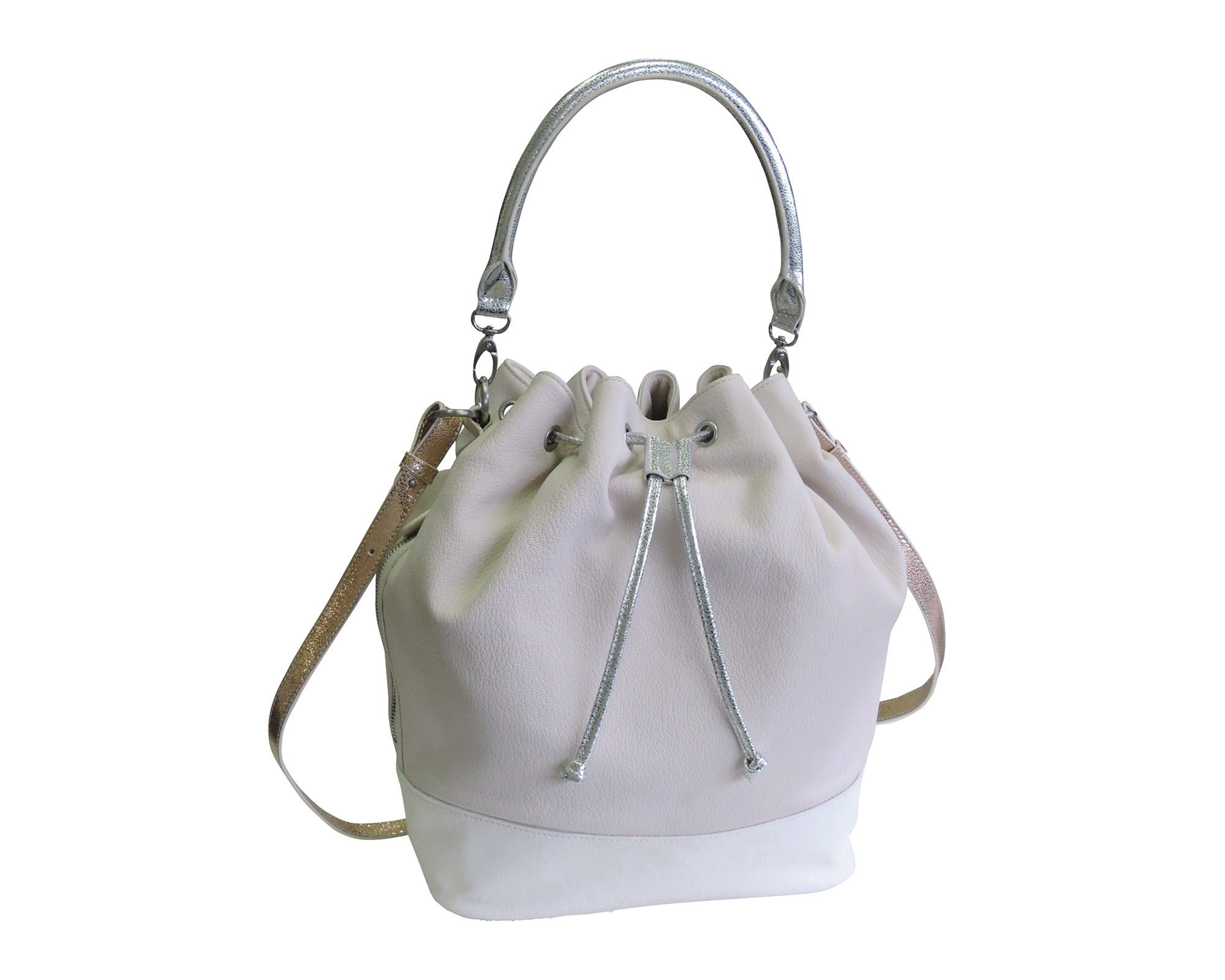 Adrienne Landau Calypso LES Bucket Bag