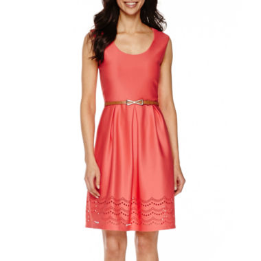 jcpenney.com | Tiana B. Sleeveless Fit-and-Flare Dress