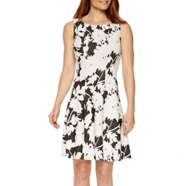 jcpenney.com | Ronni Nicole Sleeveless Floral Fit-and-Flare Dress